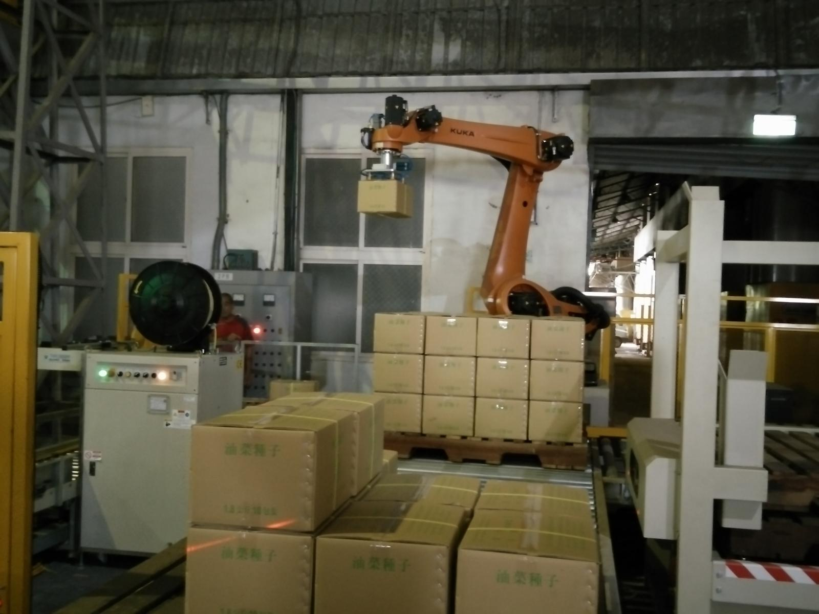 Automatic packaging system operation 2